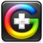 goggle plus icon