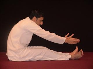 Beginners Yoga Exercises - Yoga Rowing Front
