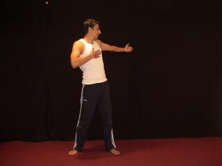 Easy Yoga Twist - Left