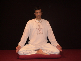Meditation Posture with Gyan Mudra